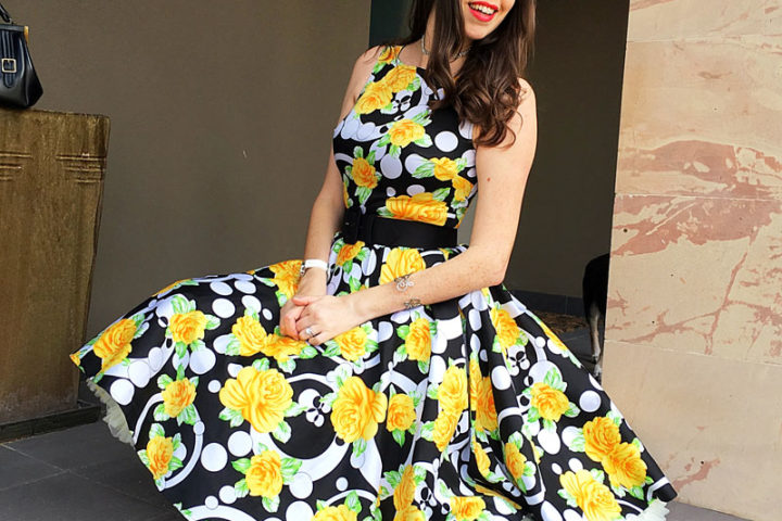 {Review} Roses are Yellow: Introducing 1950's Glam - The Dressed Aesthetic