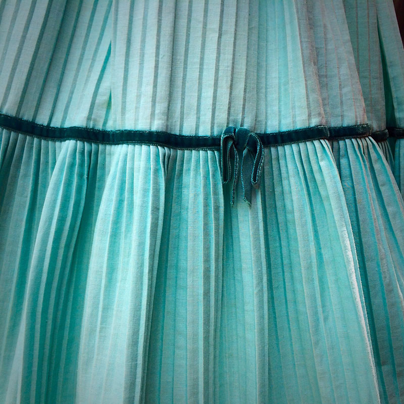 Pleats on Pleats - The Dressed Aesthetic