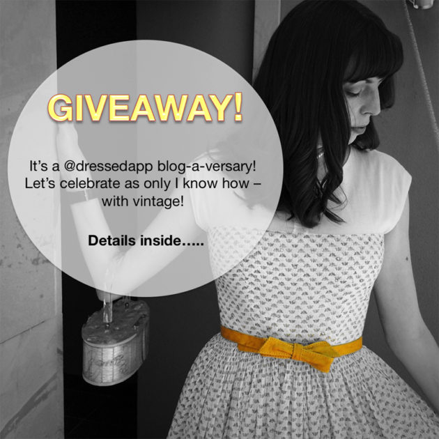 {Giveaway} 2-Year Blog-a-versary! - The Dressed Aesthetic