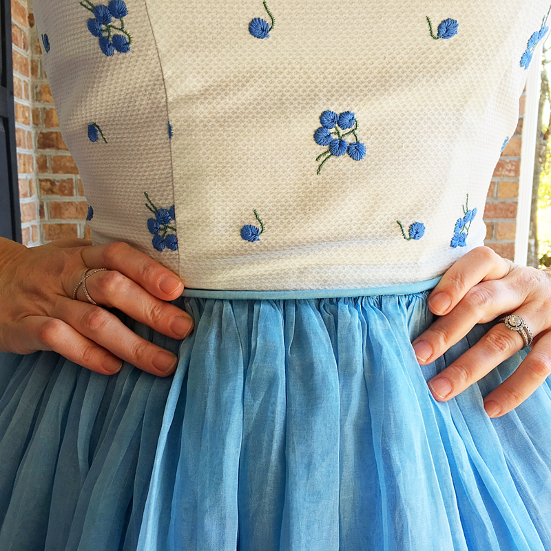 Blueberry Shortcake - The Dressed Aesthetic