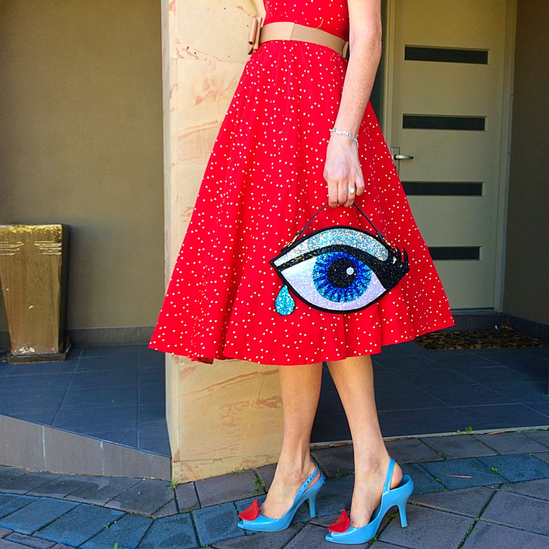 I've Got My Eye on You - The Dressed Aesthetic
