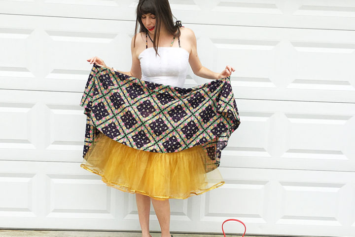 {Review} Cause I'm All About That Pouf : Hand Made Petticoats - The Dressed Aesthetic