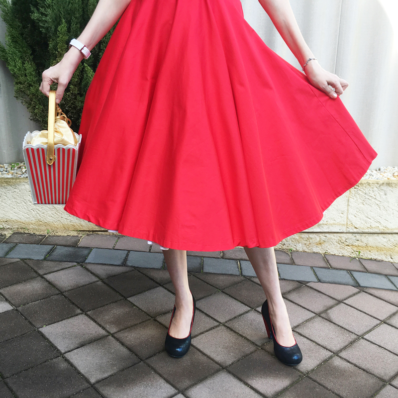 Lady in Red - The Dressed Aesthetic