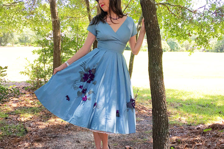 No Shrinking Violet - The Dressed Aesthetic