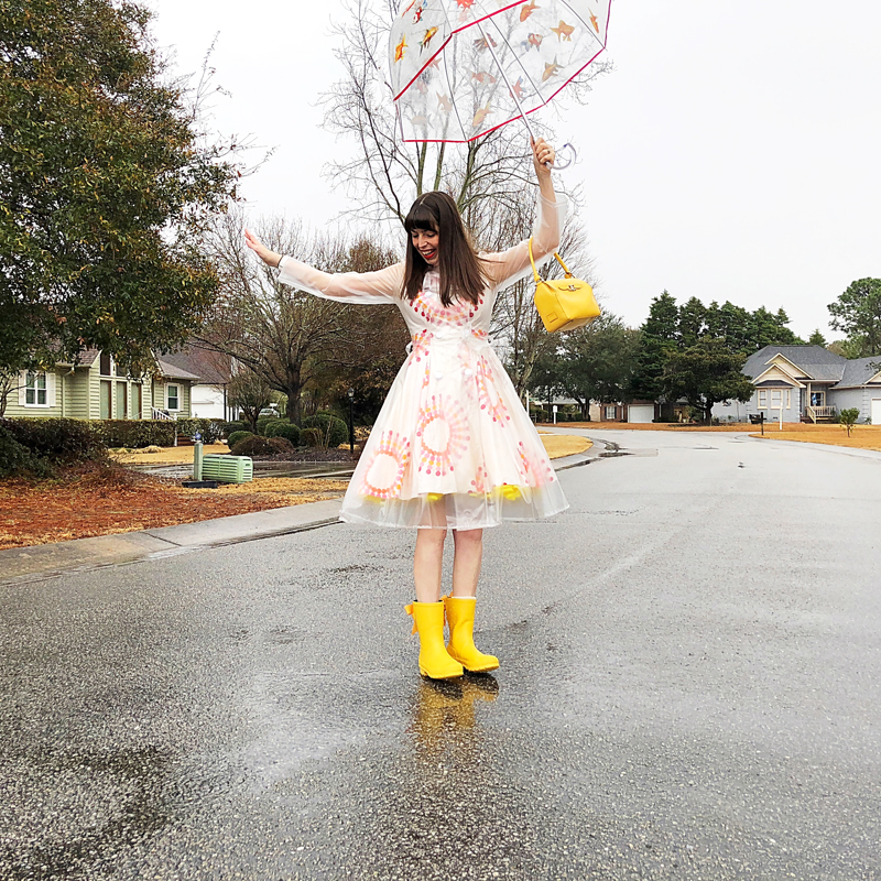 Rainy Day Hues - The Dressed Aesthetic