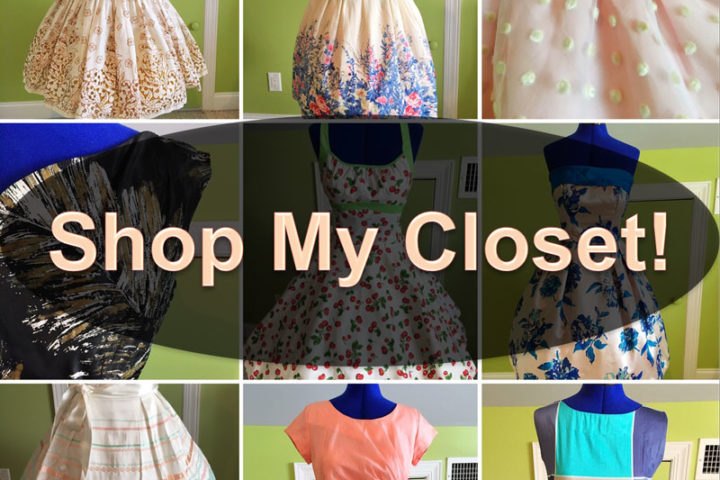 Shop My Closet #3 - The Dressed Aesthetic