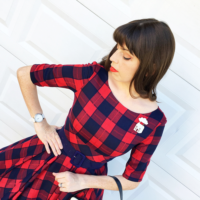 {Review} Pretty Dress Company Hepburn Dress - The Dressed Aesthetic