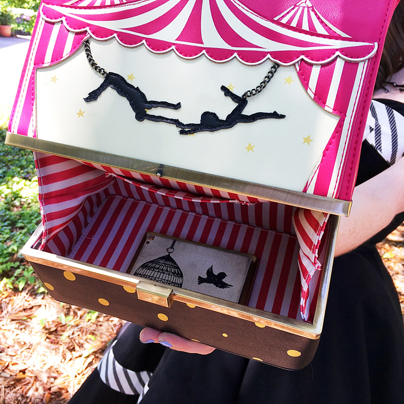 {Review} Run Away With the Circus: The Vendula London Circus Box Bag - The Dressed Aesthetic