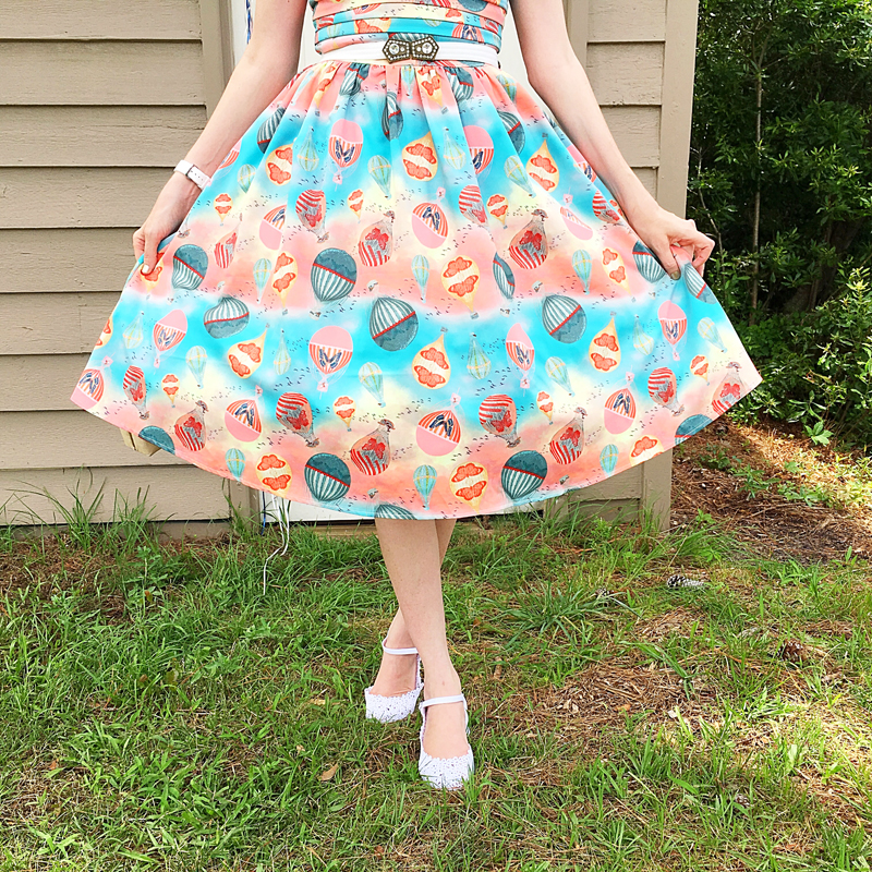 {Review} Up, Up, & Away: Voodoo Vixen Aria Dress - The Dressed Aesthetic