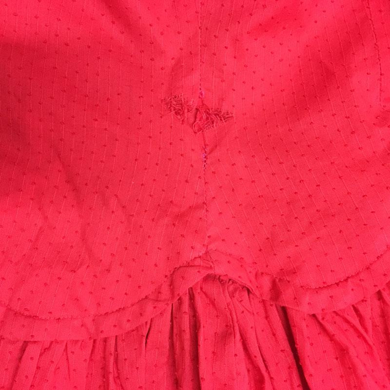 {Vintage Repair} : Well Red - The Dressed Aesthetic