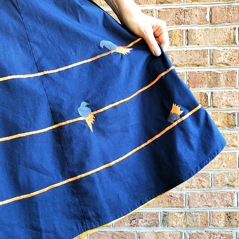 {Review} eShakti Bird on a Wire - The Dressed Aesthetic