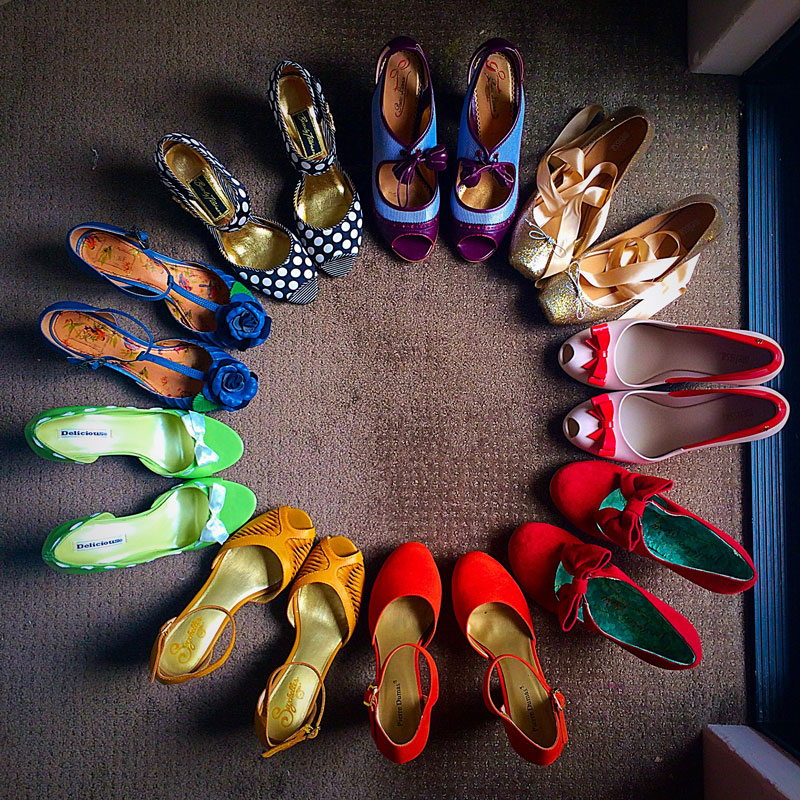 Shoe Lovers Not So Anonymous - The Dressed Aesthetic