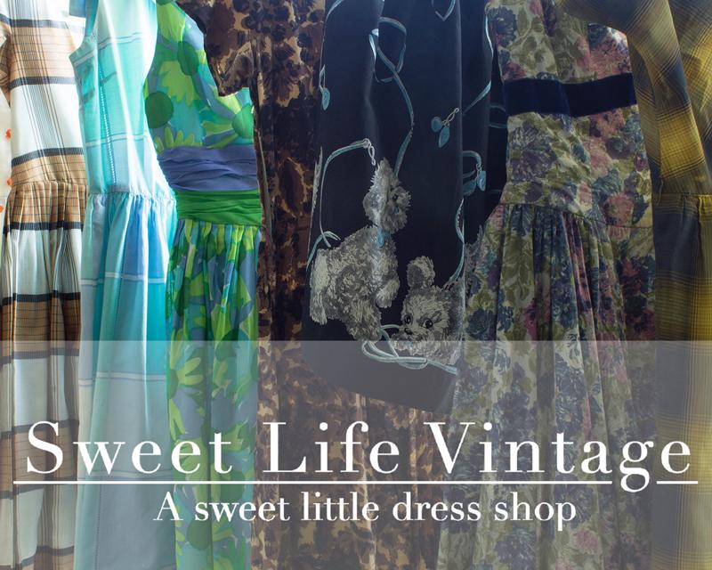 Spotlight On Sweet Life Vintage The Dressed Aesthetic